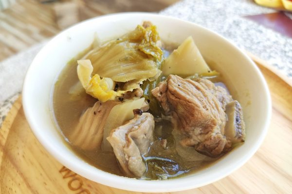 Boiled Pork Leg with Pickled Cabbage